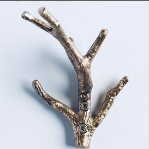 Gold Twig Metal Wall Hook from World Market